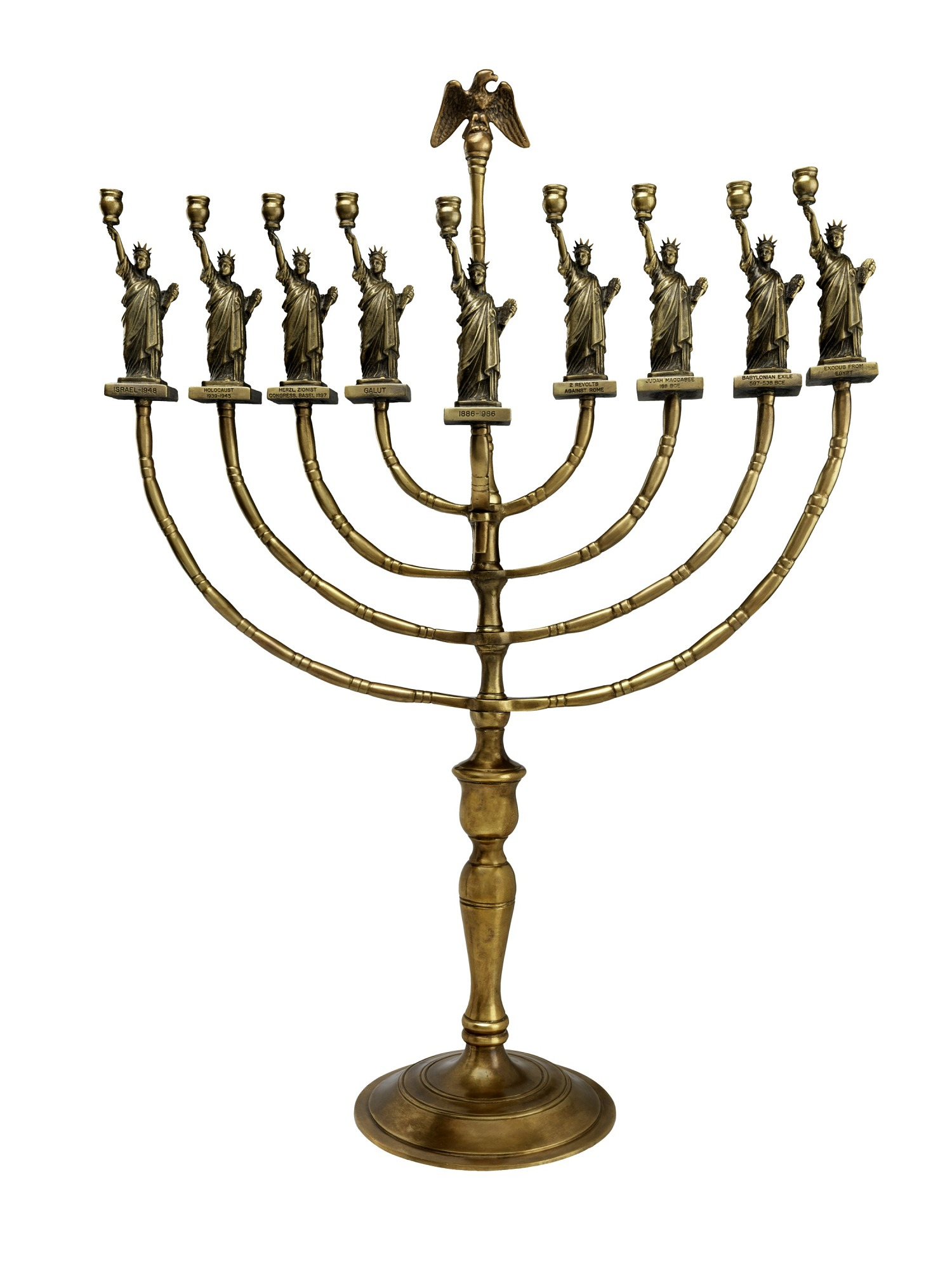images for Statue of Liberty Hanukkah Lamp, 1986