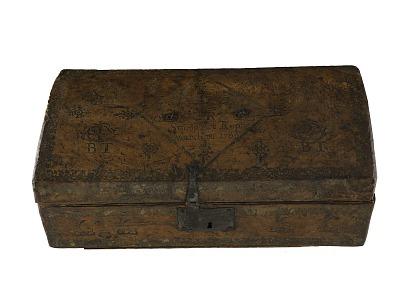 Stamp Act Box, 1766