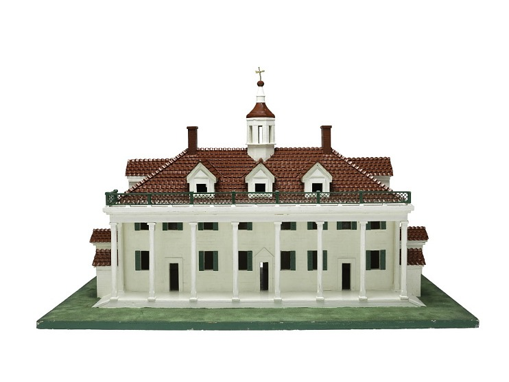 Tactile Model, Mount Vernon