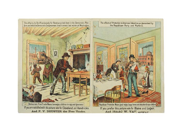 Campaign Handbill, 1884