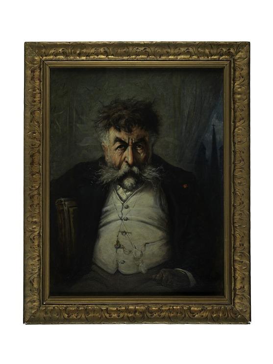 Painting, Thomas Nast, 1884