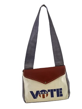 Youth Vote Purse, 1970s