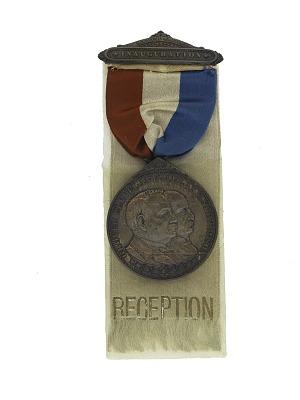 Cleveland Inaugural Badge, 1893