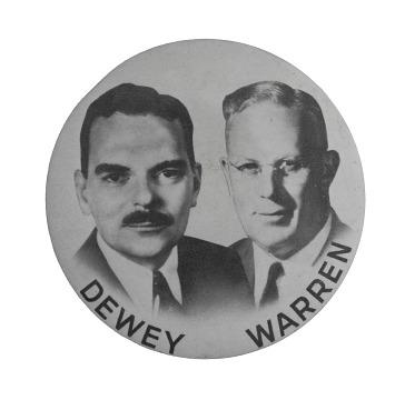 Campaign Button, 1948