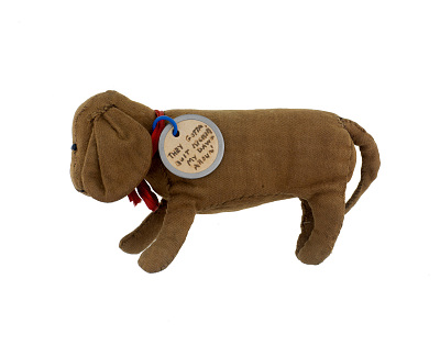 Clark Campaign Stuffed Dog