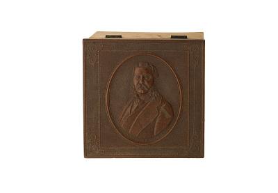 Collar Box, Chester A. Arthur, 1880