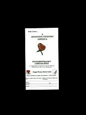 Organ/Tissue Donor Card and Pin