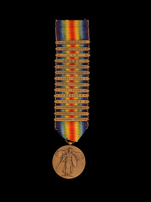 General Pershing's World War I Victory Medal