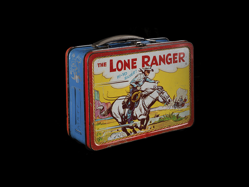 Image 1 for The Lone Ranger Lunch Box