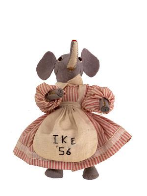 Eisenhower Campaign Doll, 1956