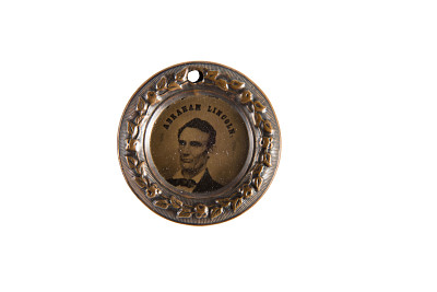 Lincoln and Hamlin Campaign Medal, 1860