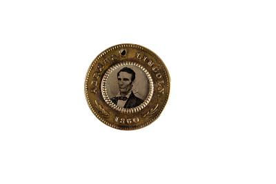 Lincoln and Hamlin Campaign Medal