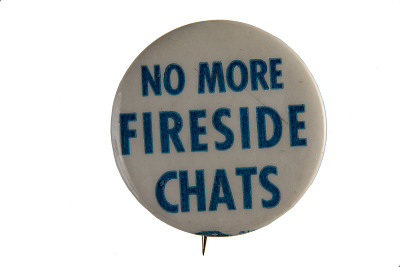 Anti-Roosevelt Campaign Button
