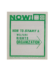 How to Start a Welfare Rights Organization