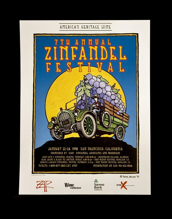 Poster, 7th Annual Zinfandel Festival