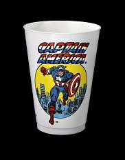 Captain America Slurpee Cup