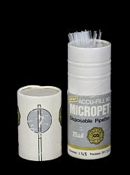 ACCU-FILL 90 MICROPET, Disposable Pipettes, 25 microliters