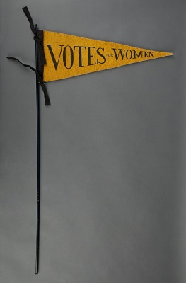 Woman Suffrage Votes for Women Pennant