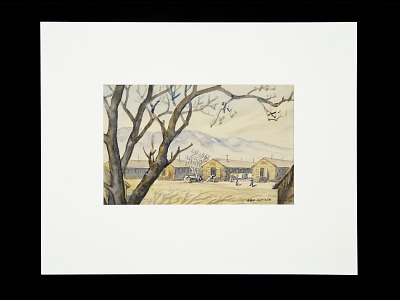 Manzanar War Relocation Ctr., 1942