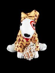 Africa Plush Dog Toy