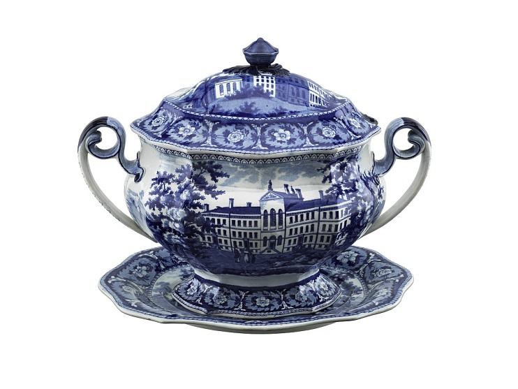 Lidded Tureen and Stand