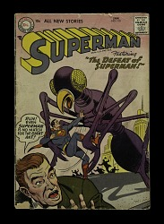 "Superman #110, ""The Defeat of Superman"""