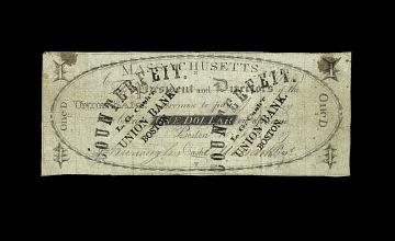Massachusetts, 1 Dollar, 1807 (Counterfeit)