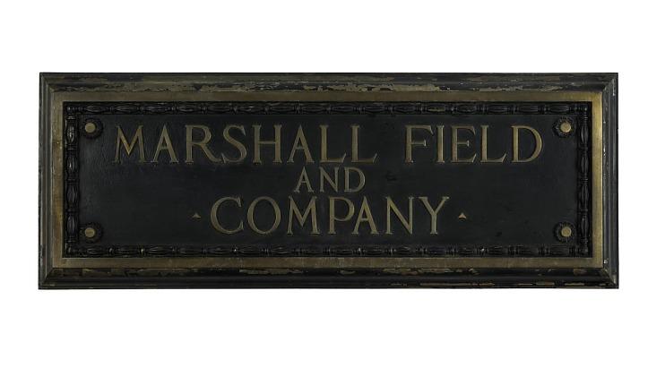 Marshall Field & Company Store Sign