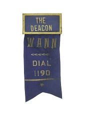 """The Deacon"" Name Tag"