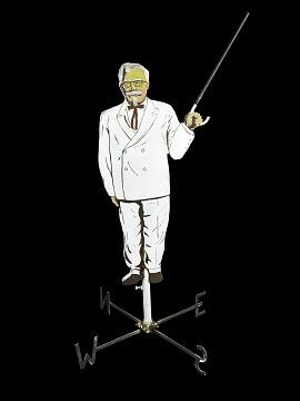 Colonel Sanders Weathervane