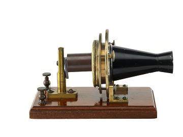 Alexander Graham Bell Experimental Telephone