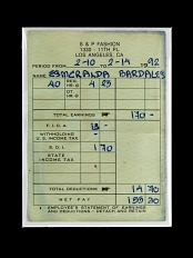 Esmeralda Bordales Pay Stub