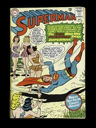 "Superman #180, ""The Girl Who Was Mightier Than Superman"""