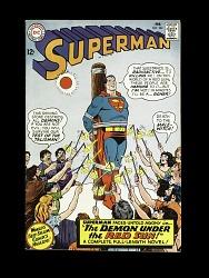 "Superman #184 ""Demon Under the Red Sun"""