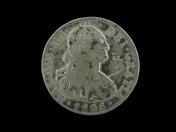 Spanish Silver Dollar, 1805