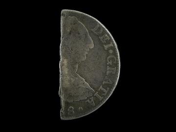 Spanish Silver Half Dollar, 1788