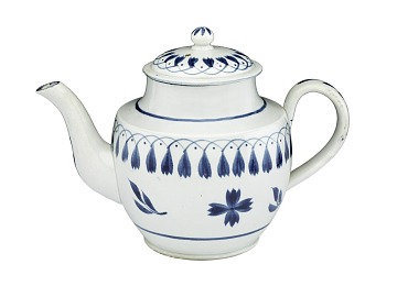 Pearlware Teapot