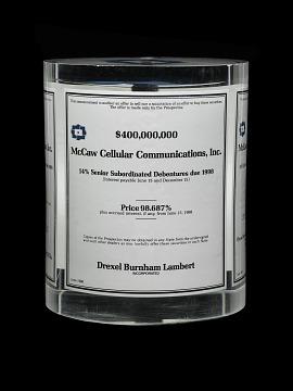 McCaw Cellular Tombstone Souvenir