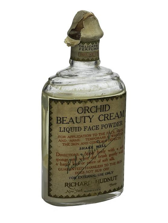 Orchid Beauty Cream, Liquid Face Powder, Brunette