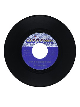 Stop! In the Name Of Love; I'm In Love Again Vinyl Single
