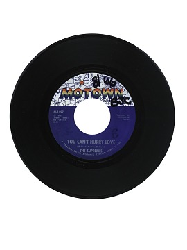 You Can't Hurry Love; Put Yourself In My Place Vinyl Single