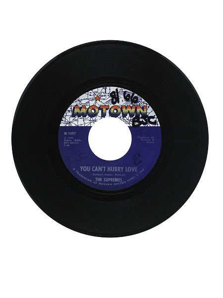 Image for You Can't Hurry Love; Put Yourself In My Place Vinyl Single