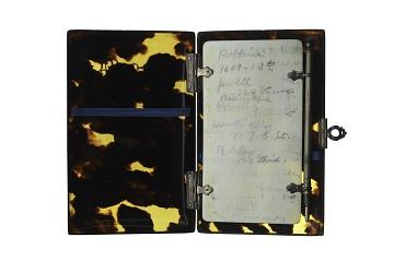 Tortoiseshell Card Case