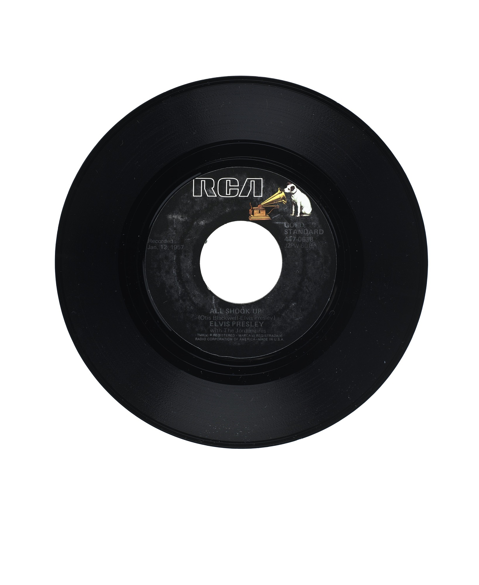 Image for All Shook Up; That's When Your Heartaches Begin Vinyl Single