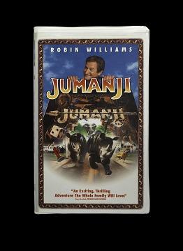 Jumanji VHS Videocassette