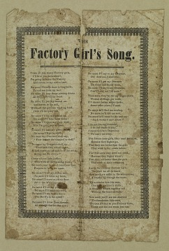 Factory Girl's Song
