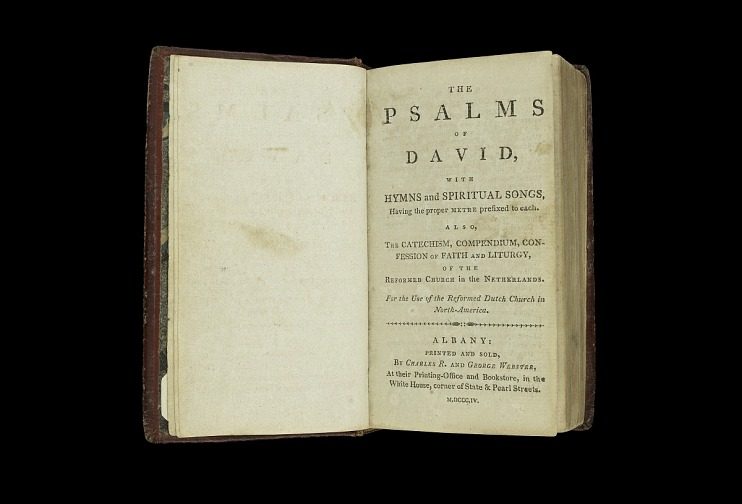 Dutch Church Psalms, Copp Bible