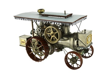 Huber Steam Traction Engine Model