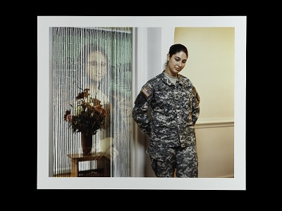 Portrait of Sergeant Kimberly Baptist, U.S. Army Reserve