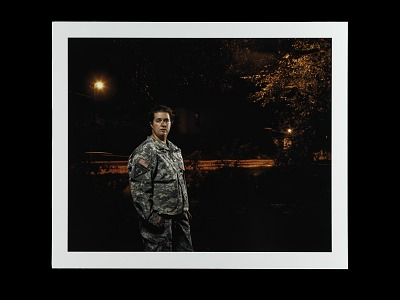 Portrait of Sergeant Katharine Broome, Virginia Army National Guard